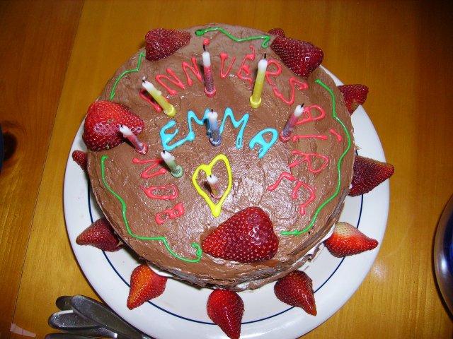 Five Months in Austin Emmas birthday